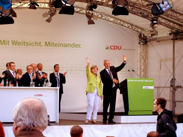Bundeskanzlerin in Annaberg